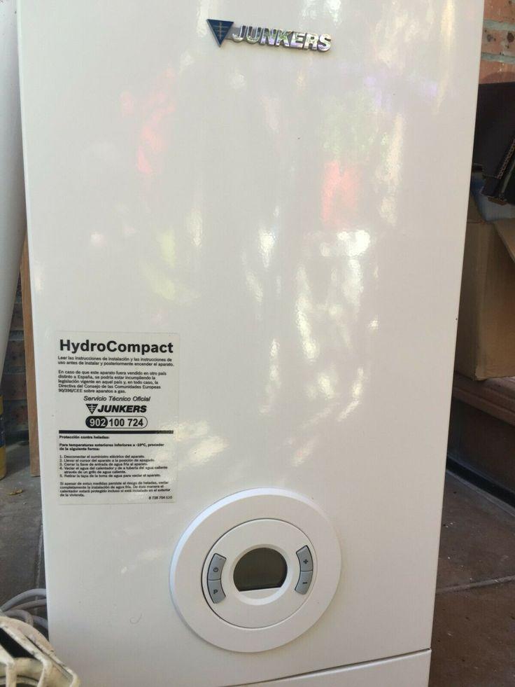 Calentador Agua Por Gas Natural Junquer Hidrocompac Usada Dos Anos