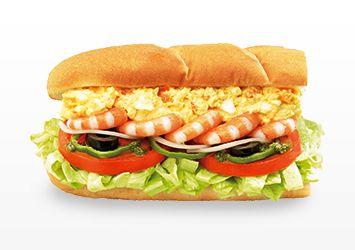 Subway Japan - Shrimp & Egg