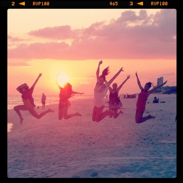 #bachelorette #sunset #beach I expect each and everyone of you ladies to jump higher then these ones lol!  catch some air...