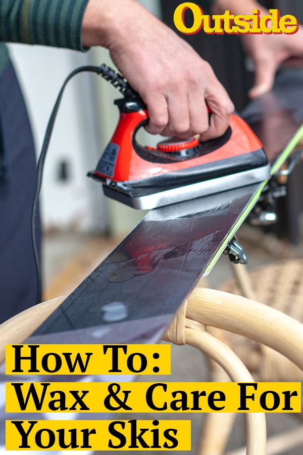 Our Time Tested Method For Prepping Your Skis Skiing Skiing Photography Nordic Skiing
