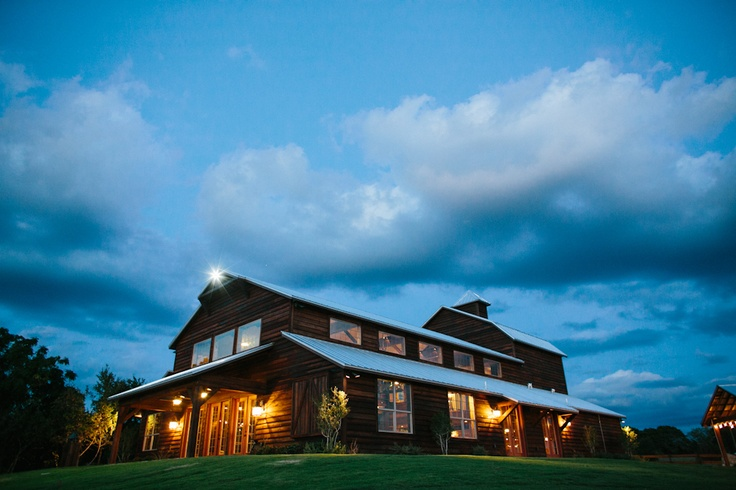 Thistle Springs Ranch for weddings-- absolutely perfect. It's right outside of Fort Worth