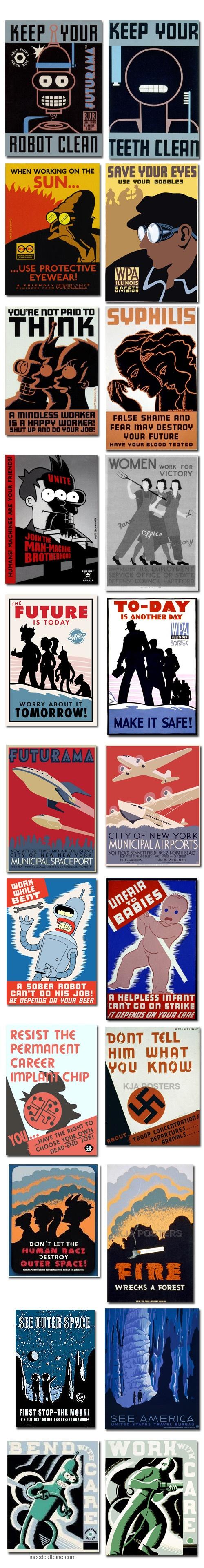 WPA versus Futurama