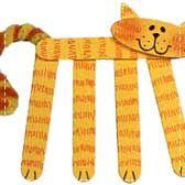 Craft Stick Kitties