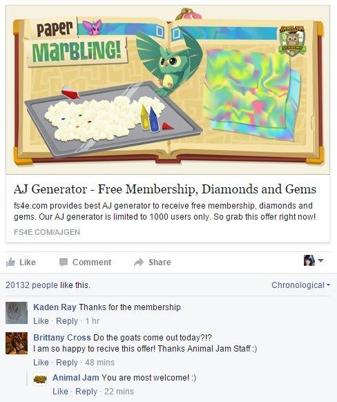 Animal Jam Hack & Cheats, Free membership, diamonds, and gems!