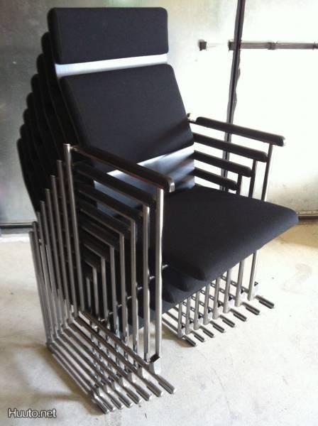 8 x AVARTE Funktus 544 -tuoli - Design Yrjö Kukkapuro 1992