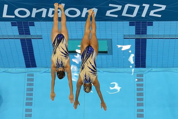 Olivia Federici Photos - Olympics Day 11 - Synchronised Swimming ...