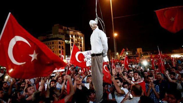 """Presidente de Turquía aprobará """"sin dudar"""" la pena de muerte"""