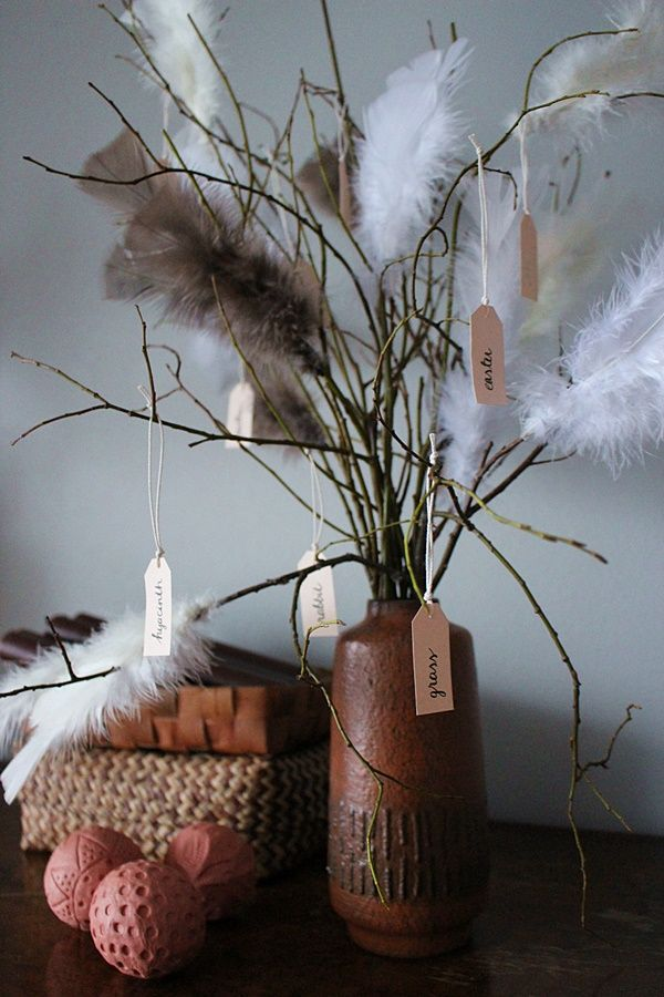 the creative night shift: DIY Easter Twigs