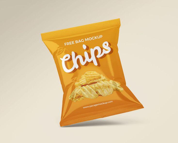 Download Small Chips Snacks Packet Mockup Set Free Package Mockups Snack Chips Chips Snacks