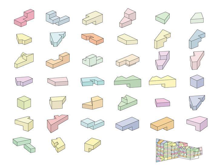 VM building: re-interpretation of Corbusier´s Unite de Habitation in Marseille  //  PLOT: BIG+JDS