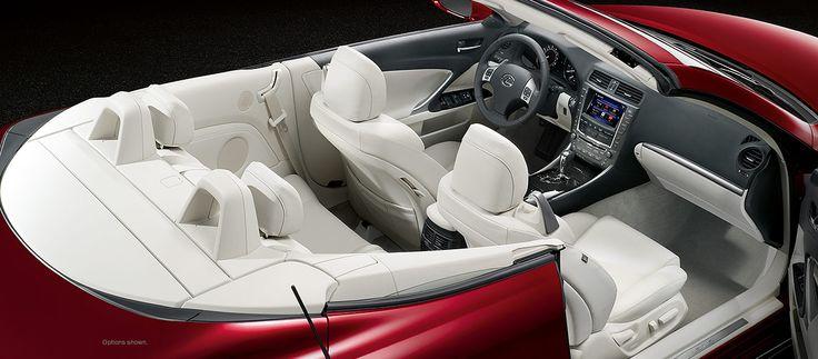Lexus IS C, Lexus IS C F SPORT   2014   Lexus Convertible   Explore #NoKids #Lexus #LexusIS250C