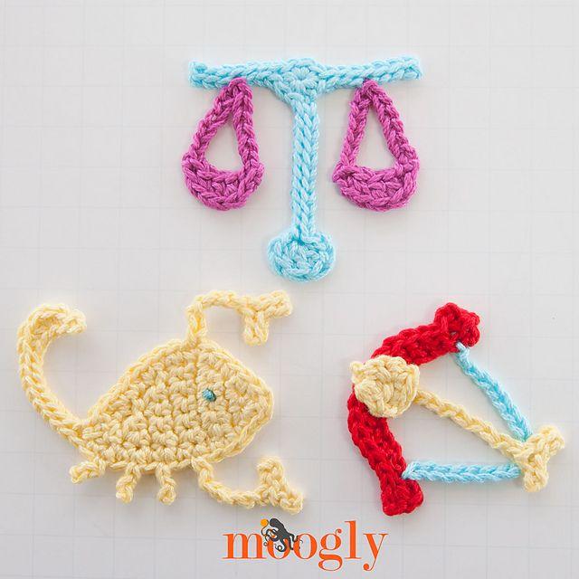 Mejores 12 imágenes de Crochet Applications en Pinterest | Apliques ...