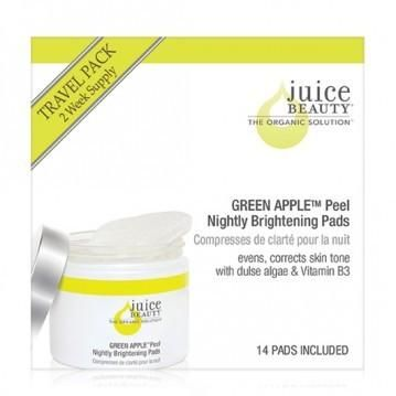 GREEN APPLE Peel Nightly Brightening Pads Travel Size