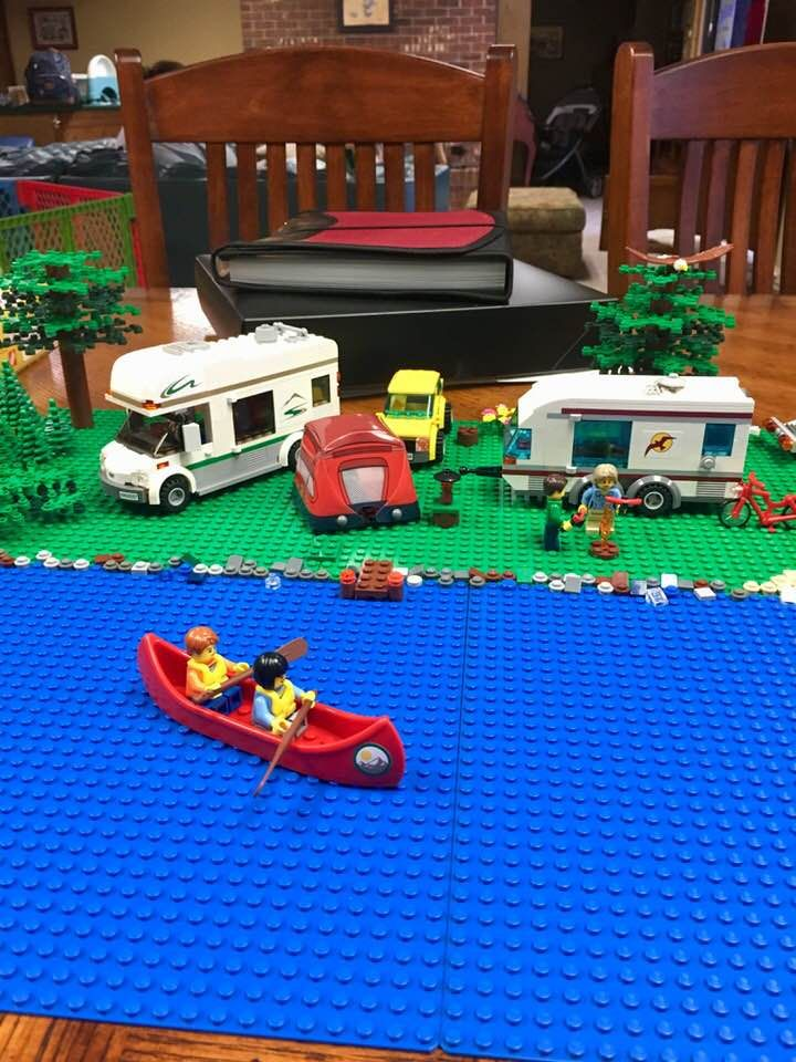 This Canoe Is From The Lego Camper Van 60057 Set My Lego Designs