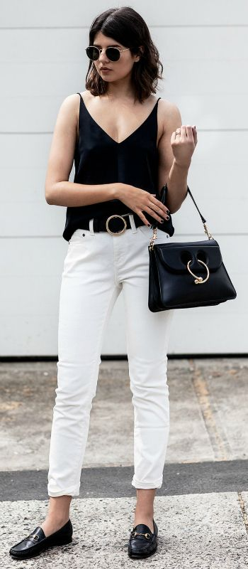 Best 25 Loafers Outfit Ideas On Pinterest Black Loafers Workwear And Minimalist Fashion