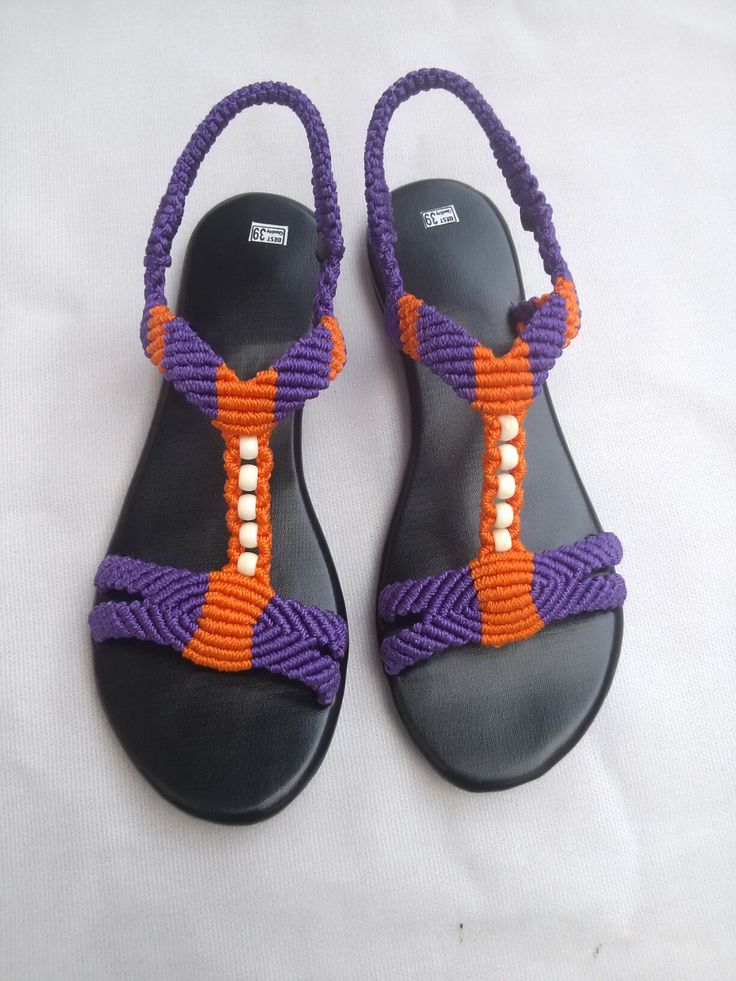 1000+ images about macrame sandals