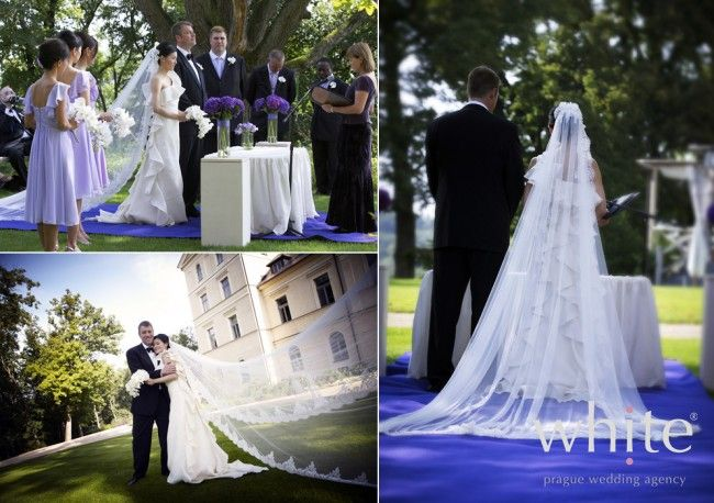 Castle romance at Chateau Mcely - White - Prague Wedding Agency