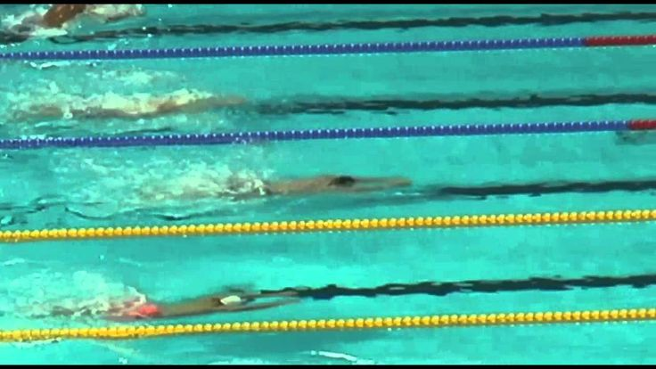 Kevin Cordes' Breaststroke Turn at 2015 World Championships
