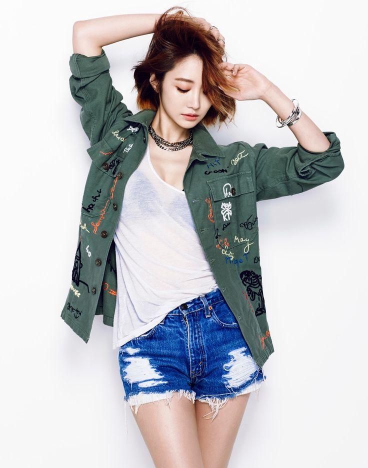 Go Joon Hee - The Celebrity Magazine June Issue '14
