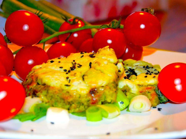 Zdravé rýchlovky: Brokolicové placky zapekané s bryndzou