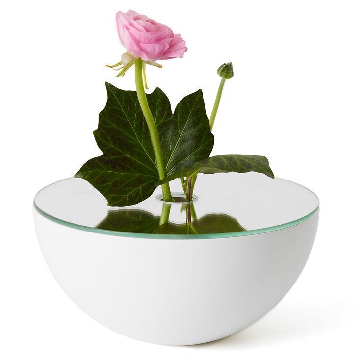 Poem+Vase,+Hvit,+A2