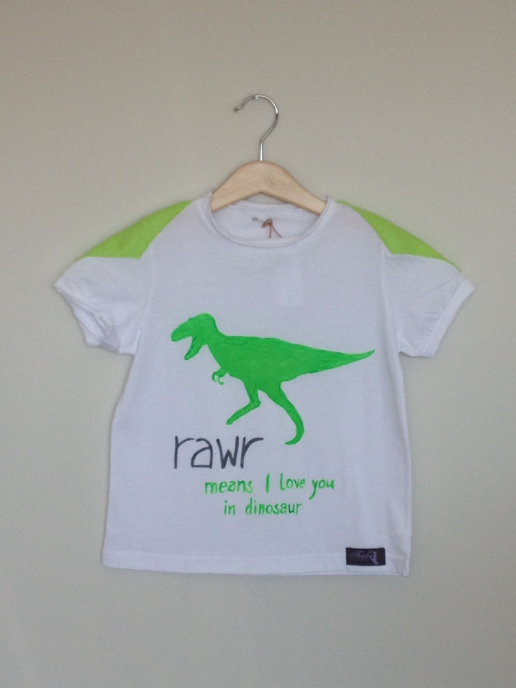Hand Painted T-shirt  http://www.missflamingo.gr
