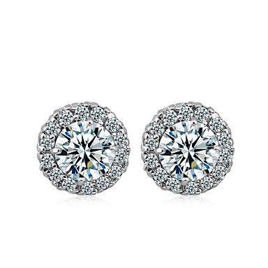 la moda de estilo minimalista pendientes electroplate platino de Jing mujeres dian erz0552 – CLP $ 1.885