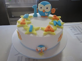 Giggle and hoot first birthday cake http://strawbeari3.blogspot.com.au/2012/08/giggle-and-hoot-1st-birthday-cake.html