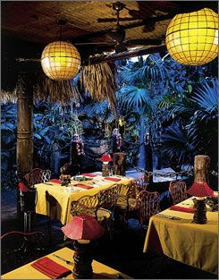 Mai-Kai, a Polynesian restaurant in Fort Lauderdale. Went here for a birthday party once, amazing!