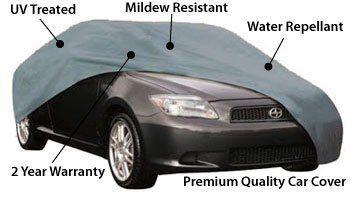 BMW 5 Series Premium Fitted Car Cover With Storage Bag