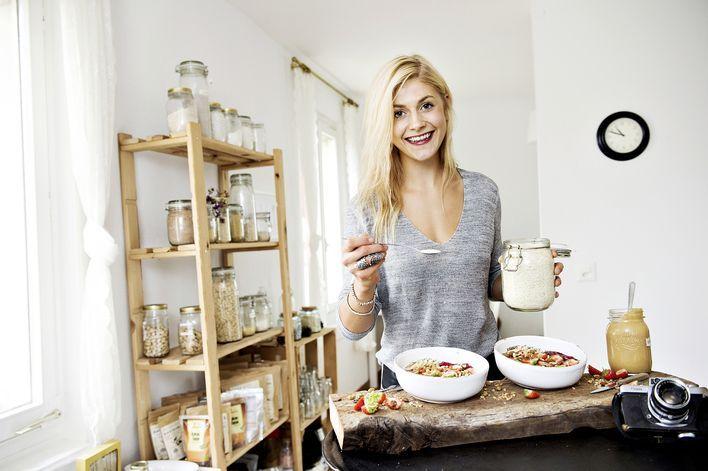 Ohne Zucker und Weissmehl: In ihren Kreationen setzt Nadia Damaso auf Gesundes wie Quinoa oder Chia.
