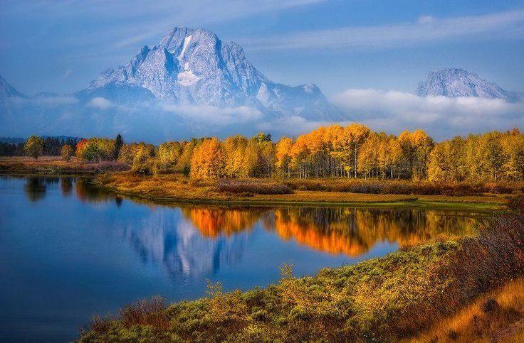 Скалистые горы, США.