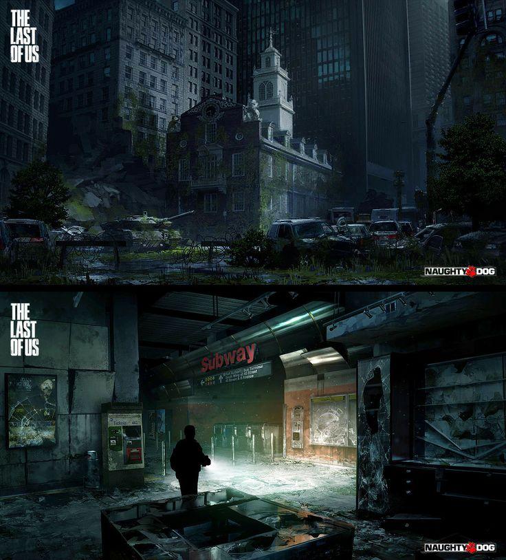 Marek_Okon  'The Last of Us' concept set #1 by Marek_Okon