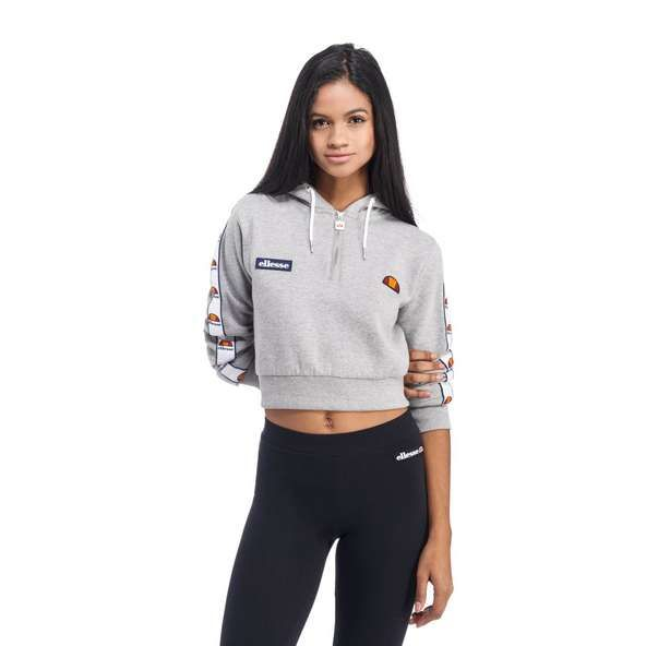 Ellesse Crop Half Zip Hoody | JD Sports