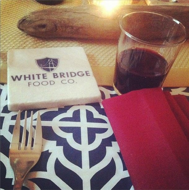 Custom coasters for our friends @whitebridgefood #WBFC #thedinnerparty