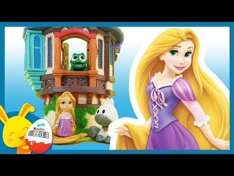 (133) Histoire Raiponce - Disney Animators - Raiponce Pascal et Maximus - Titounis Touni Toys - YouTube