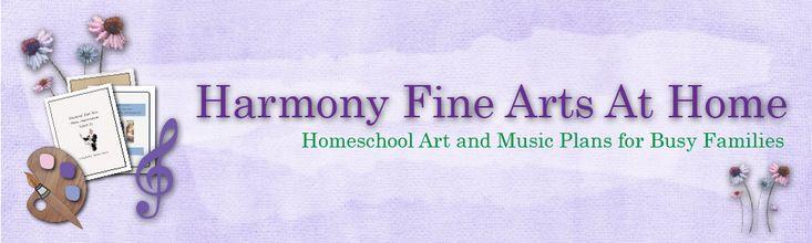 Free Downloads   Harmony Fine ArtsHarmony Fine Arts - Art and Music in the 1800's (High School Level) -