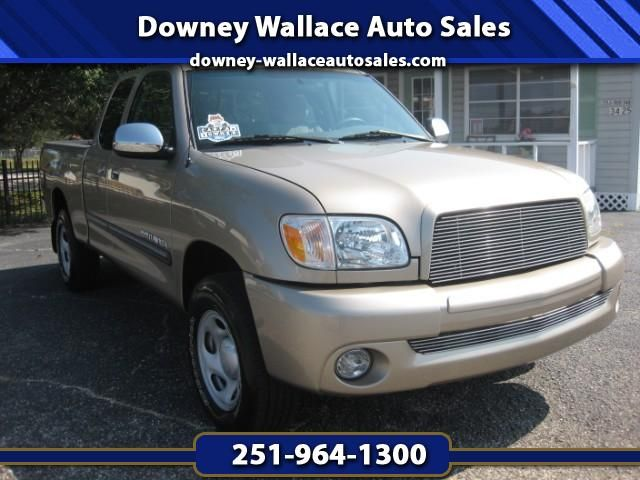 Used 2006 Toyota Tundra SR5 Access Cab for Sale in Loxley AL 36551 Downey Wallace Auto Sales