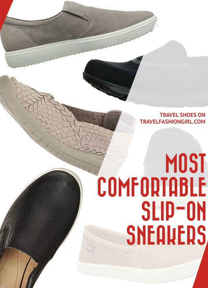 most comfortable women's slip on sneakers