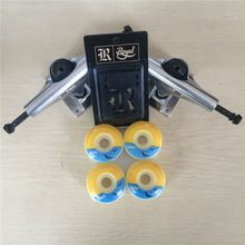"Good quality Skateboard Trucks and wheels Mixed 5.25"" Trucks & 51,52mm Wheels Plus Royal Riser Pads for Complete Skateboard //Price: $US $47.84 & FREE Shipping //     #tshirtdesign"