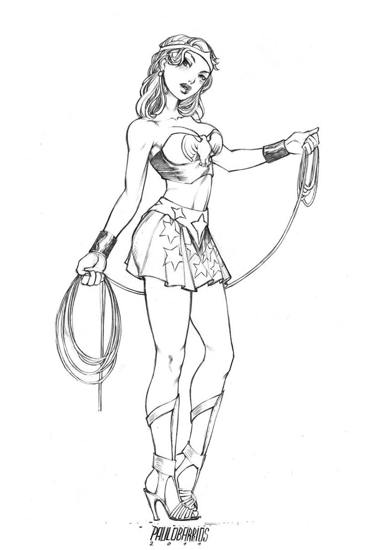 Coloring pages wonder woman - Sexy Pin Up Girl Coloring Pages Google Search
