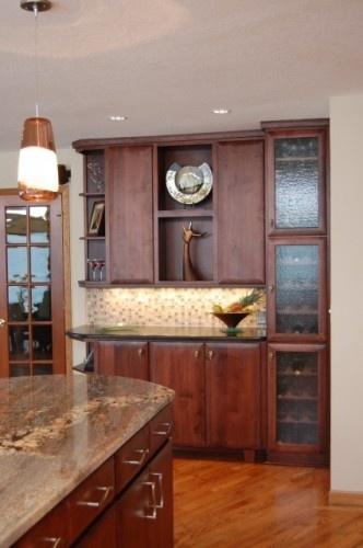 Luxury Rounded Edge Kitchen Cabinets