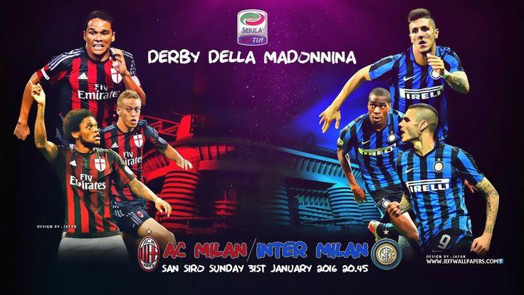 2016, Soccer, Football, AC Milan, Inter Milan, Derby Della Madonnina, FC…