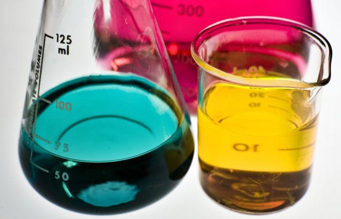 Кислотне число та масова частка олії