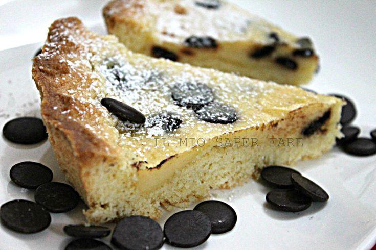 Crostata ricotta cioccolato