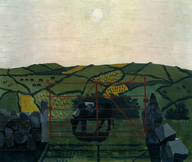 Kenneth Rowntree, 'Cornish Landscape' 1952