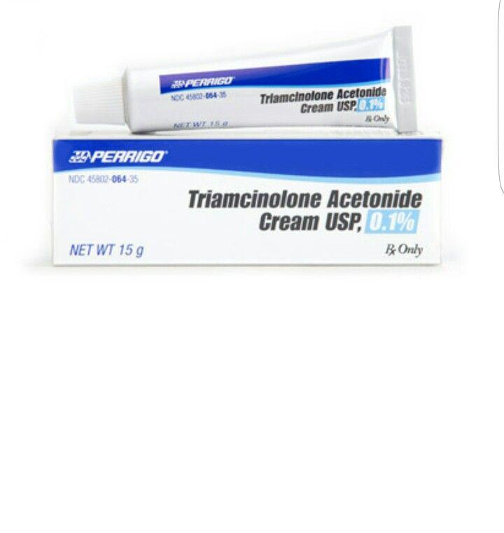 Triamcinolone acetonide cream acne