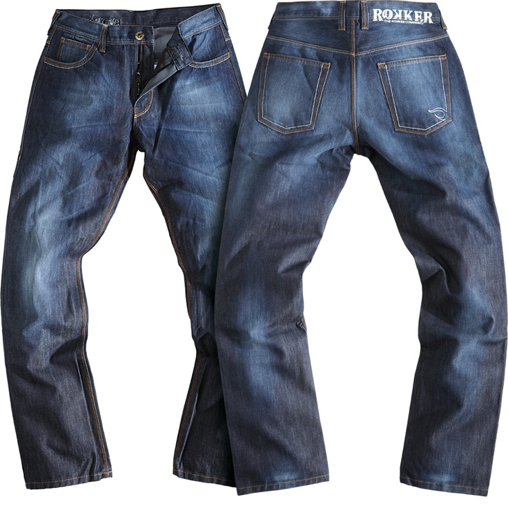 ROKKER JEANS - JEANS FOR REAL BIKERS - THE ROKKER COMPANY COLLECTION 2013 - REVOLUTION