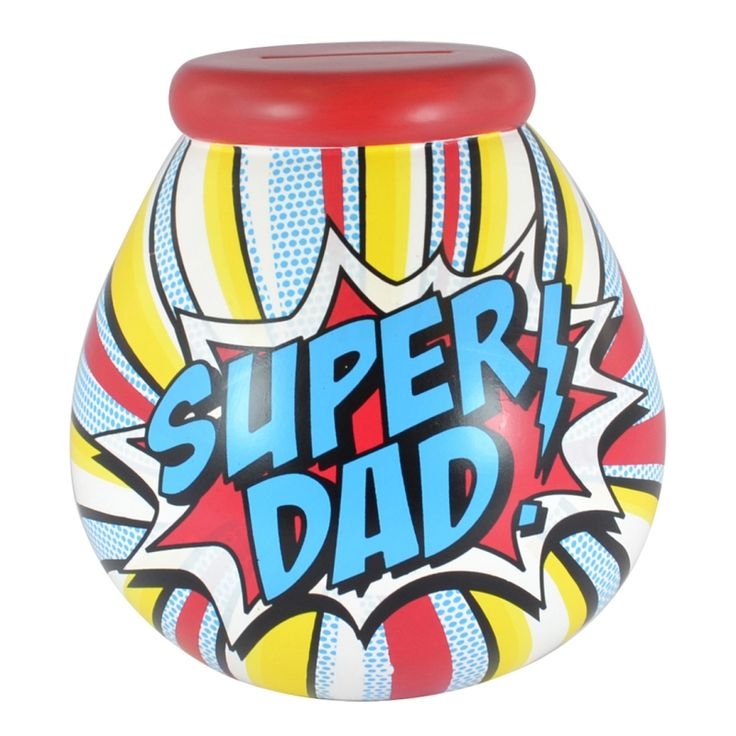 Super Dad Pot of Dreams Money Bank: For the best range of ceramic Pot of Dreams Money Banks look no further than Gifts and Collectables online