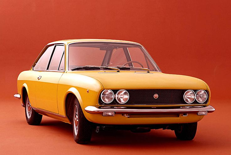 Fiat 124 Sport-Coupe   1969                                                                                                                                                      Más